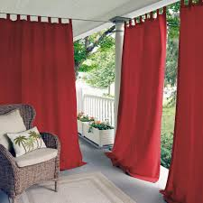 semi opaque outdoor curtains u0026 drapes window treatments