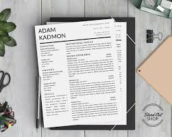 resume templates that stand out adam kadmon resume template stand out shop resume template