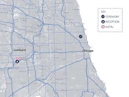Chicago Hotels Map by Wedding Website Wedding On Aug 27 2016