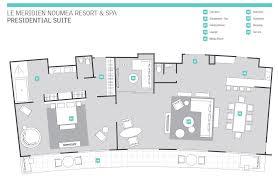 Presidential Suite Floor Plan by