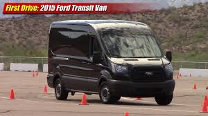 ford tv commercial first drive 2015 ford transit van testdriven tv