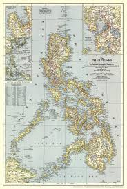 Phillipines Map National Geographic Philippines Map 1945 Maps Com