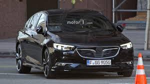 opel england 2017 opel insignia sedan and wagon break cover