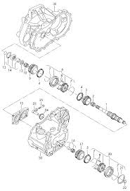 2007 volkswagen touran europe market gearbox gears and shafts