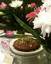 rachel allen u0027s blueberry and coconut cake with lemon cream