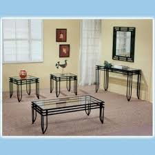 Hallway Table And Mirror 3 Piece Coffee Table Set Comes With Hall Table And Wall Mirror