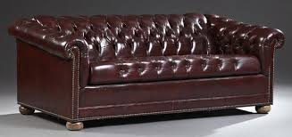 Chesterfield Leather Sofa Bed Sofa Looking Tufted Leather Sleeper Sofa Amazing