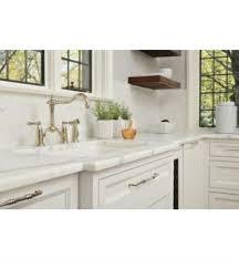 brizo tresa kitchen faucet brizo 62536lf tresa two handle bridge kitchen faucet with spray