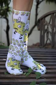 Meme Socks - spongebob mocking meme socks meme socks spongebob gift