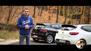 renault 4 pope test renault clio rs edc și rs trophy youtube