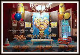 life songs of a busy mom despicable me minion birthday party