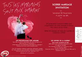 galerie lafayette mariage soirée mariage galeries lafayette