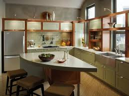 Design Kitchen For Small Space by Orange Kitchen Style For Small Spaces Ideas Of Kitchen Style For