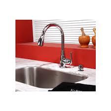 premium kitchen faucets shop kraus premium rubbed bronze 1 handle pull kitchen