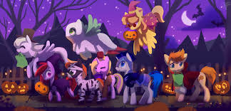 happy halloween animated images happy pony halloween by celebi yoshi on deviantart