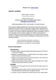 Job Resume Marketing by Resume Marketing Sales Executive Free Samples Examples