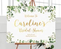 Bridal Shower Signs Bridal Shower Sign Etsy