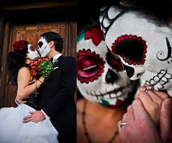 day of the dead wedding day of the dead wedding bravobride