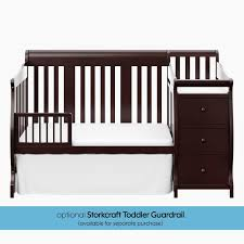 Storkcraft Convertible Crib Storkcraft Portofino 4 In 1 Convertible Crib Reviews Wayfair