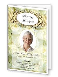 Funeral Bulletin Templates Five New Funeral Program Templates Offer Even More Choice