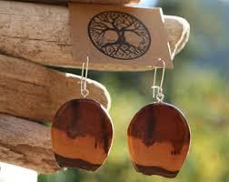 eco earrings eco earrings etsy