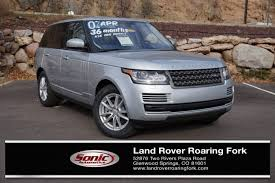 land rover range rover 2016 land rover range rover in glenwood springs co
