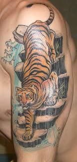 amazing tiger forearm tattoos design idea for and