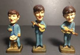 beatles cake toppers 3 vintage 1960 s beatles cake toppers made in hong kong 3 75