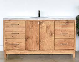 Bathroom Vanity Reclaimed Wood Bathroom Vanity Etsy