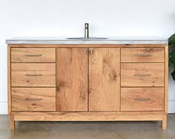 Mid Century Modern Bathroom Vanity Mid Century Vanity Etsy