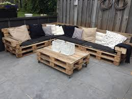 Pallet Furniture Patio by Lounge Set With Repurposed Euro Pallets Euro Pallets Pallets