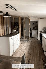 how to replace cabinets in a mobile home gutting our wide kitchen rocky hedge farm