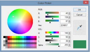 c how to make colordialog to allow to set chosen color u0027s