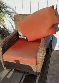 Orange Patio Cushions by Furniture Charming Cool Martha Stewart Patio Furniture With