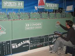 ready for opening day artist completes lifelike fenway mural as ready for opening day artist completes lifelike fenway mural as sox season begins news wicked local boston ma
