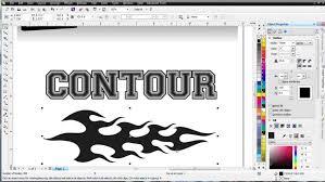 corel draw x6 rutor coreldraw x6 interactive contour tool tutorial advancedtshirts