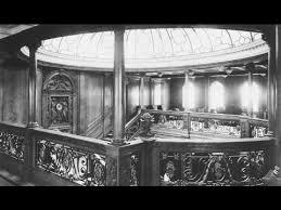 Titanic 1st Class Dining Room Titanic Interior 1st 2nd U0026 3rd Class Youtube