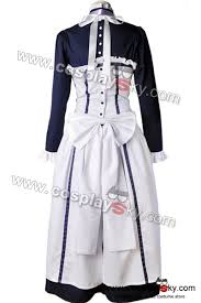 Halloween Butler Costume Black Butler Ii 2 Hannah Annafellows Cosplay Costume Cosplaysky
