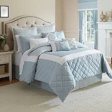 Bed Bath And Beyond Queen Comforter Winslet Comforter Set In Blue Bed Bath U0026 Beyond