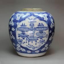 chinese kangxi blue and white porcelain