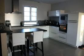 cuisine blanche sol noir cuisine blanche sol noir davausnet quelle couleur de cuisine avec