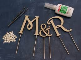 gold letter cake topper wedding cake toppers letters cakes ideas