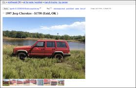 Jeep For Sale Craigslist If Swanson Sold His Jeep On Craigslist It D Look Like This