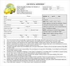 car rental agreement enterprise car rental agreement pdf free