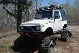 jeep track samurai snowcat jeep rockcrawler 4x4 lifted tracks