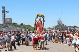 in a small cape cod fishing town catholic culture on full display