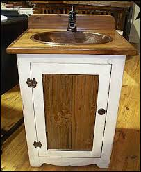 Pine Bathroom Vanity Cabinets by Photo Of Front View Country Bathroom Vanity Antique White Pine
