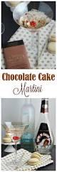 chocolate martini birthday chocolate cake cocktail recipe