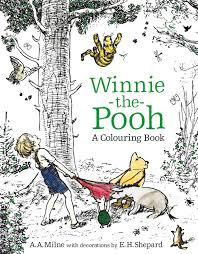 winnie the pooh a colouring book colouring books amazon co uk