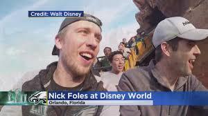 Nick Foles Meme - super bowl winning qb nick foles celebrates at disney world youtube
